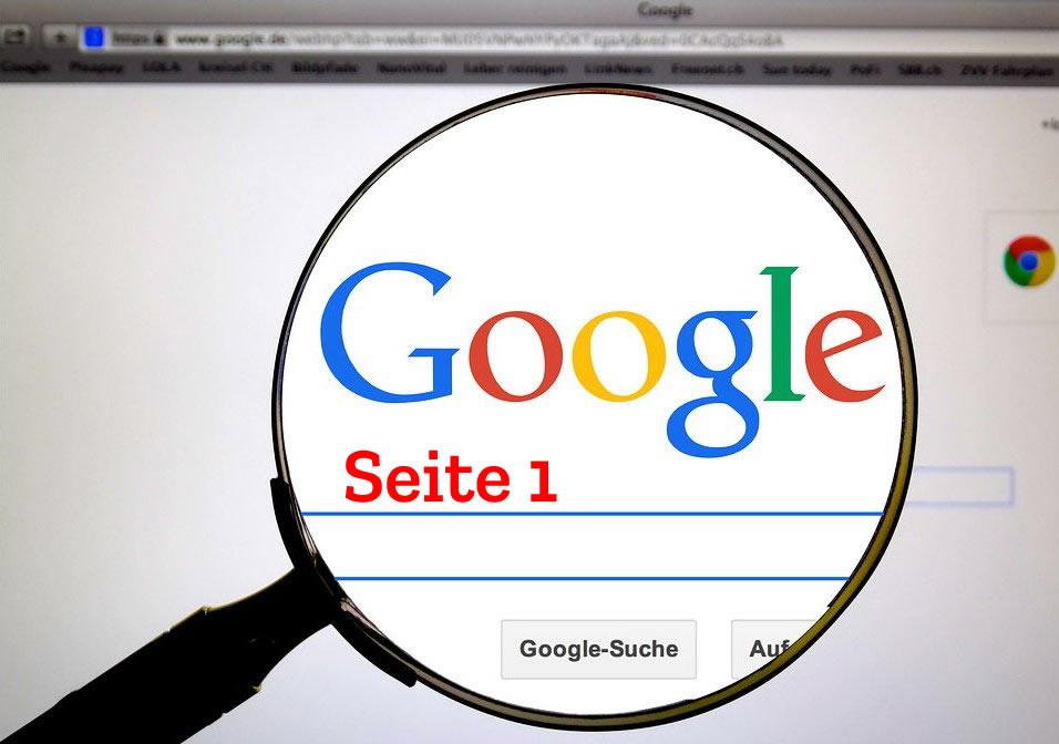 Google Seite eins